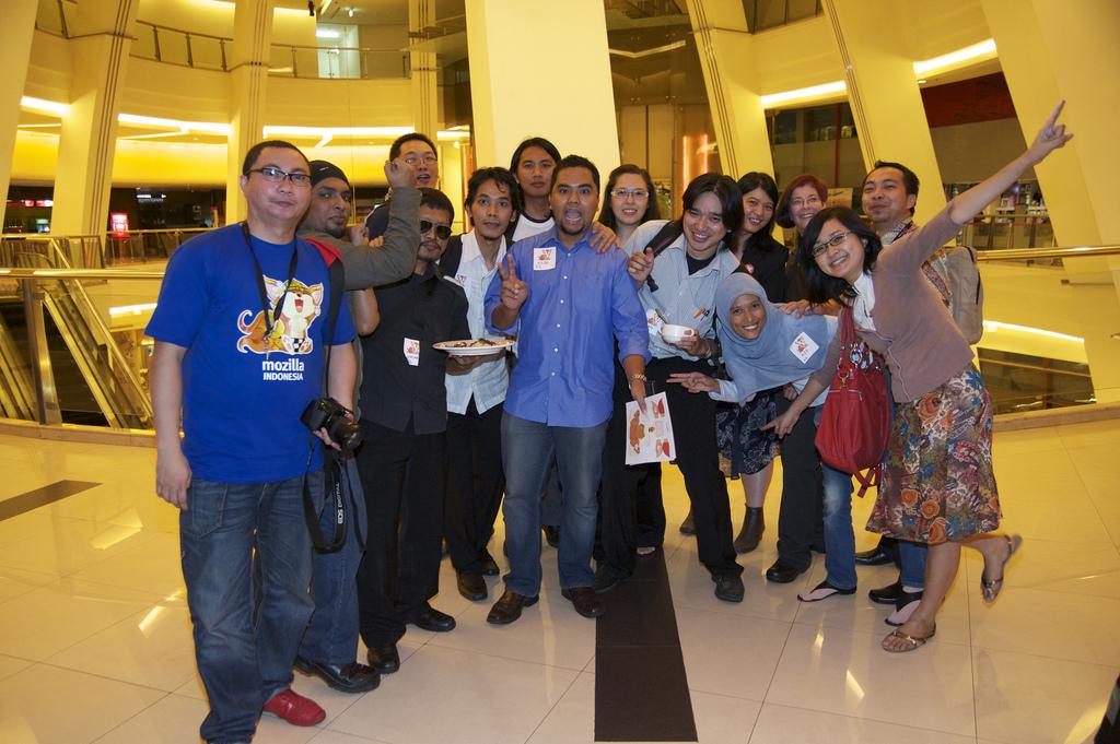 Mozilla Indonesia @ Blitzmegaplex Pacific Place - 2010