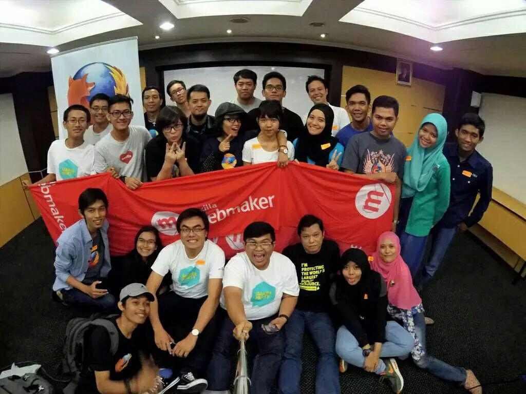 Reps and Mozillians - Webmaker Training - Jakarta, 2015