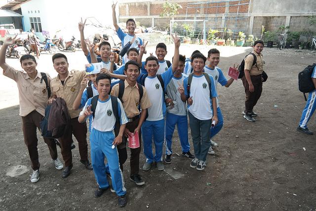 Visit to SMK Assalaam, Bandung