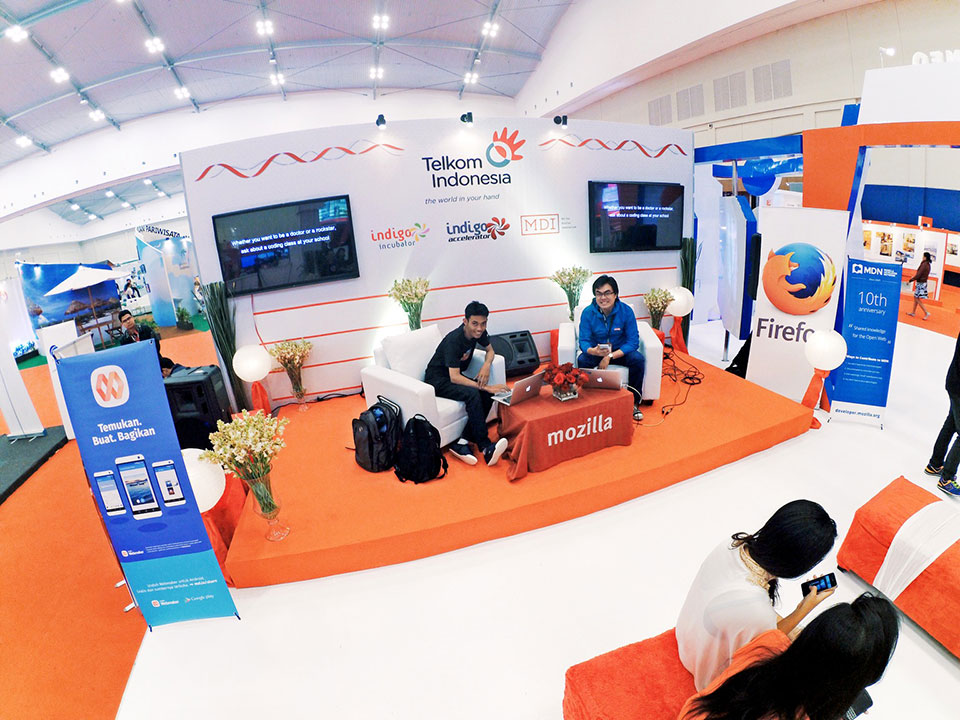 Mozilla Indonesia at National Creative Meetup ICE