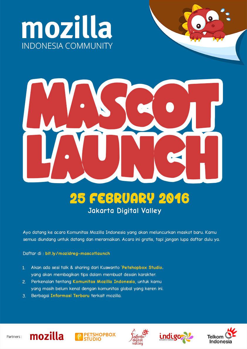 Mozilla Indonesia Mascot Launch