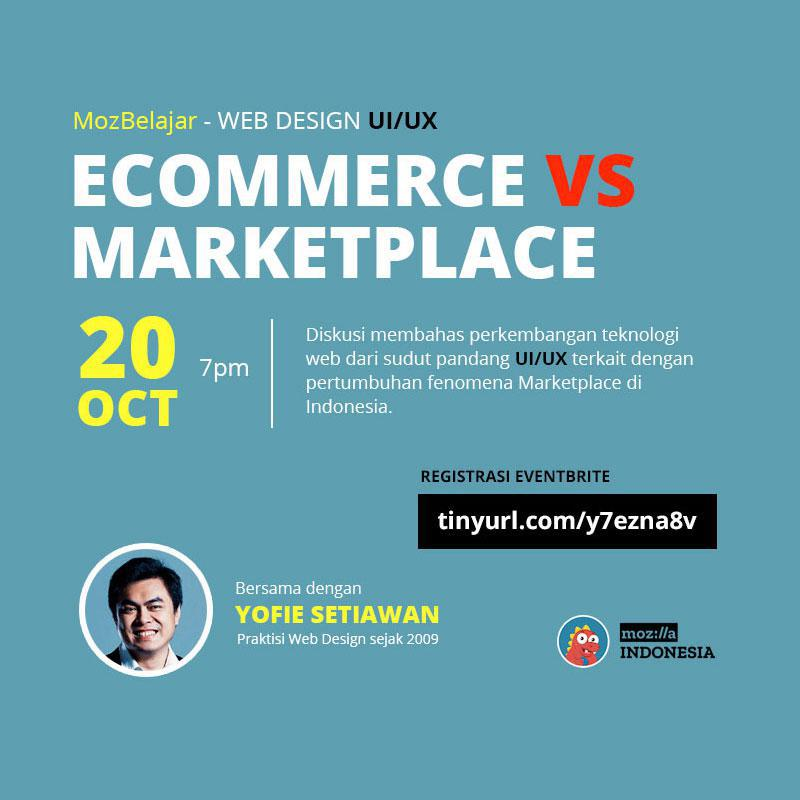 eCommerce vs Marketplace