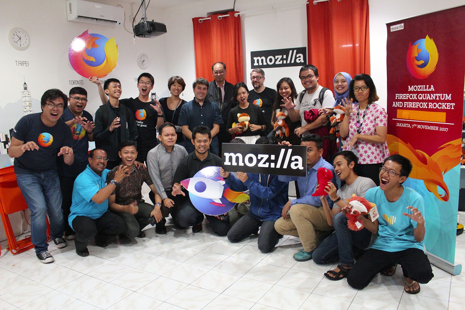 Firefox Quantum and Firefox Rocket Arrive in Indonesia