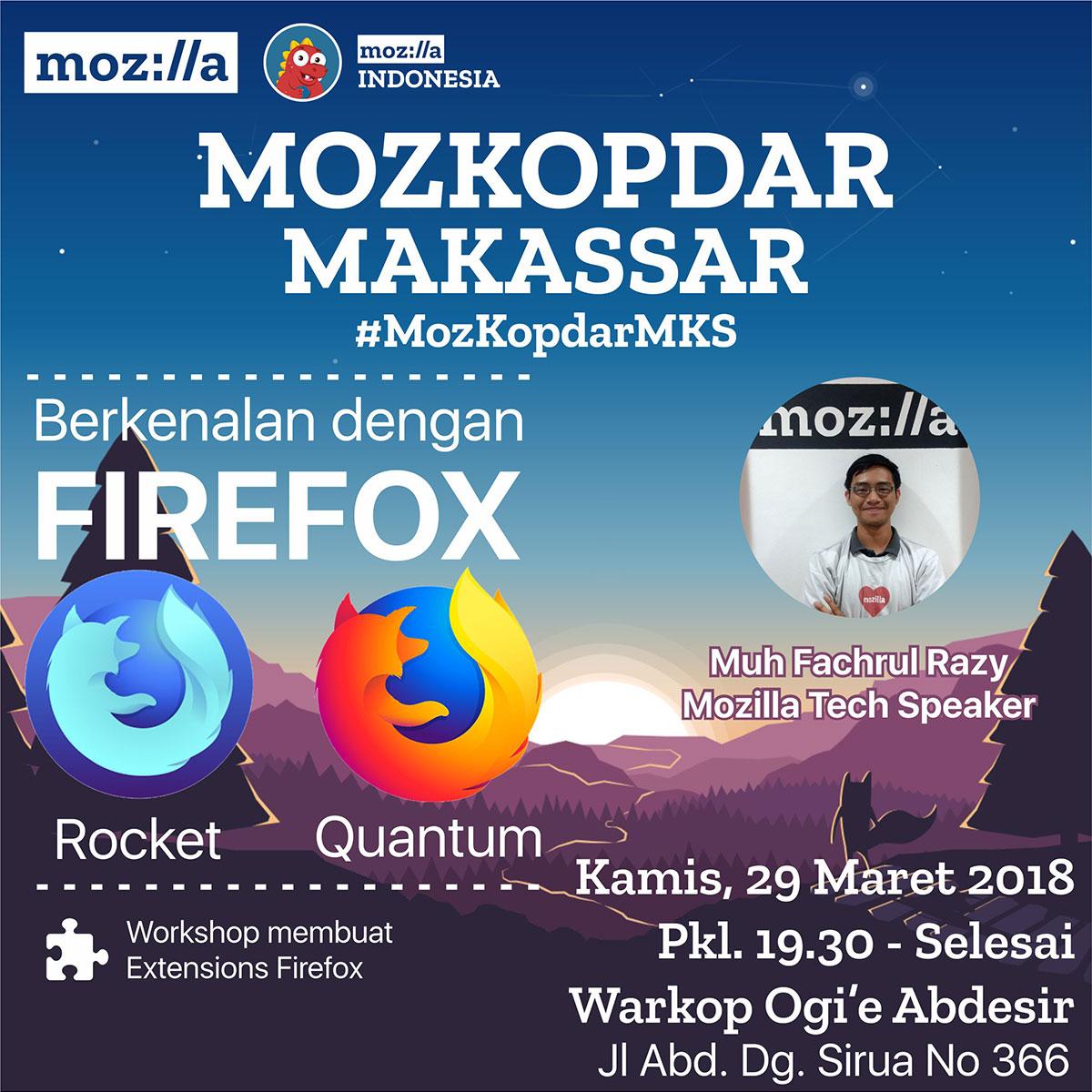 #MozKopdarMKS – Berkenalan dengan Firefox