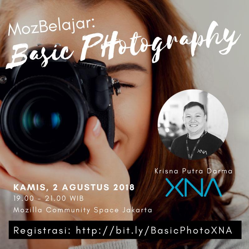 MozBelajar : Basic Photography
