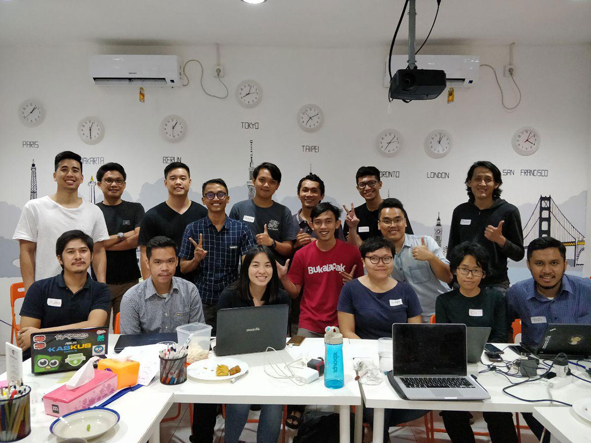 Along with Mozilla Indonesia Community, Garage Script Helps More People Learn Coding Skills
