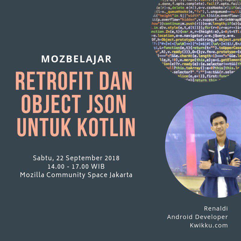 Retrofit dan Object JSON untuk Kotlin