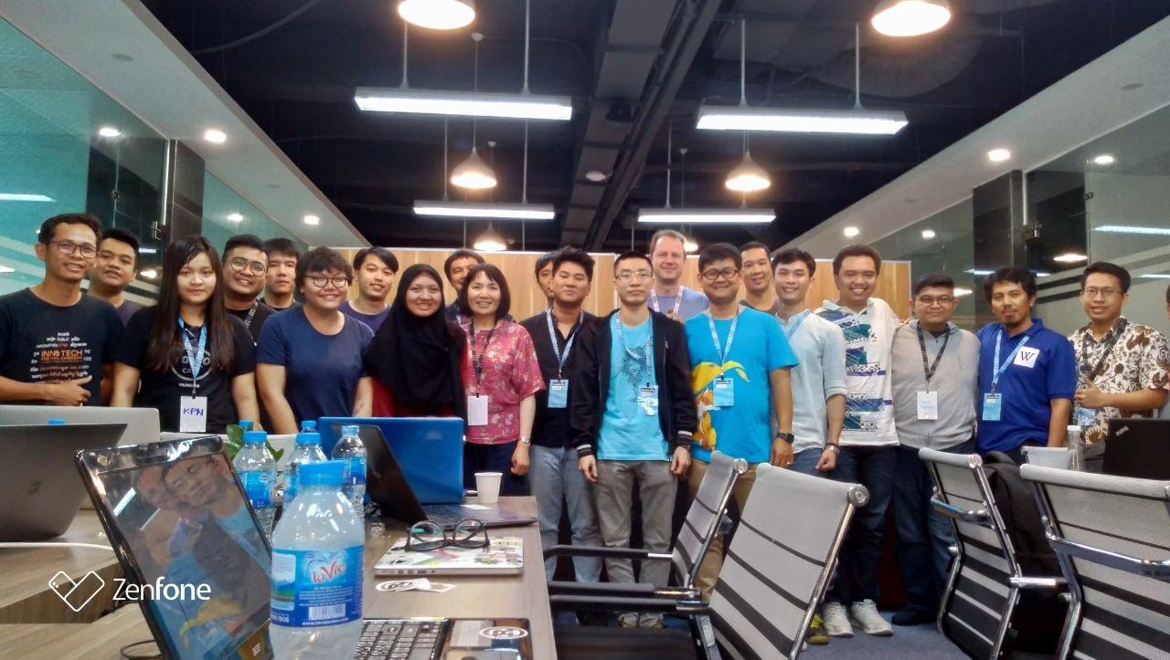 Pertemuan Pelokalan Mozilla Asia Tenggara di Hanoi