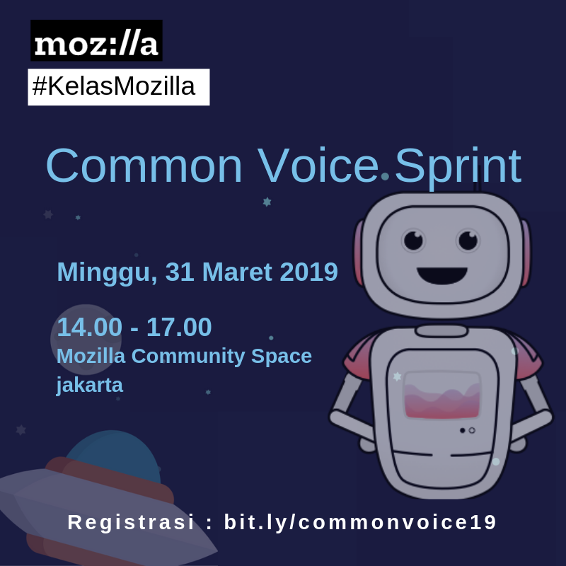 Kelas Mozilla – Common Voice Sprint